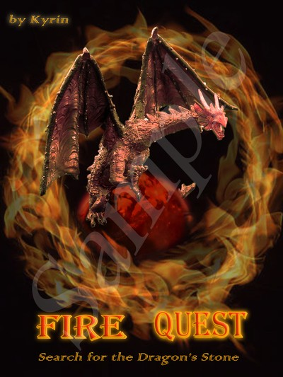 Fire Quest Book Cover (proposed)