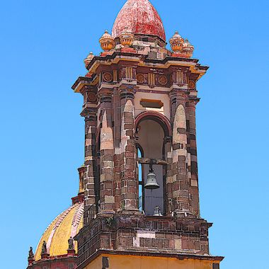 Bell tower, Guanajuato, México