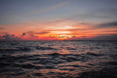 Cambodian Sunset