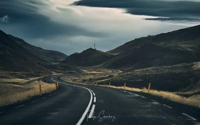 Route through Vestfirðir