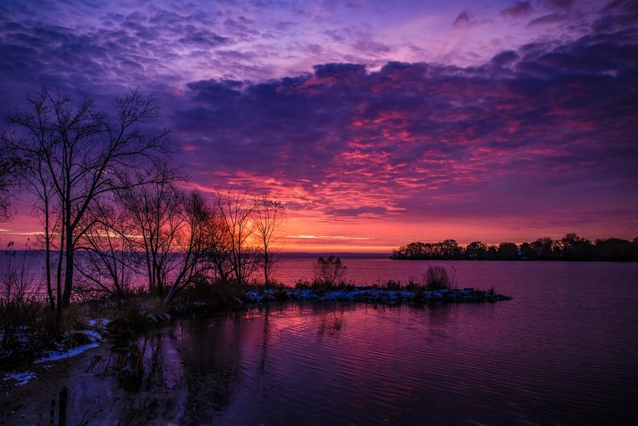Sunrise - Lake Winnebago