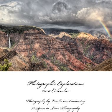 Cover_Photographic Explorations 2020 Calendar