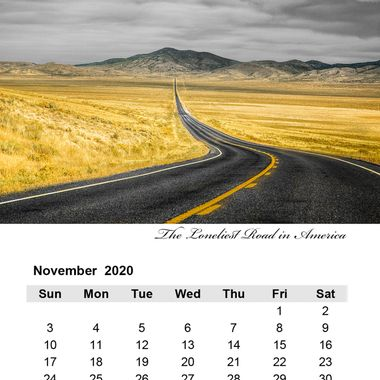 November 2020 The Loneliest Road in America