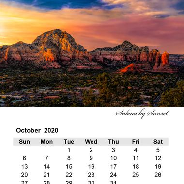 October 2020 Sedona by Sunset