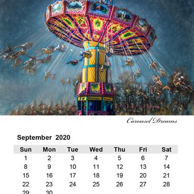 September 2020 Carousel Dreams