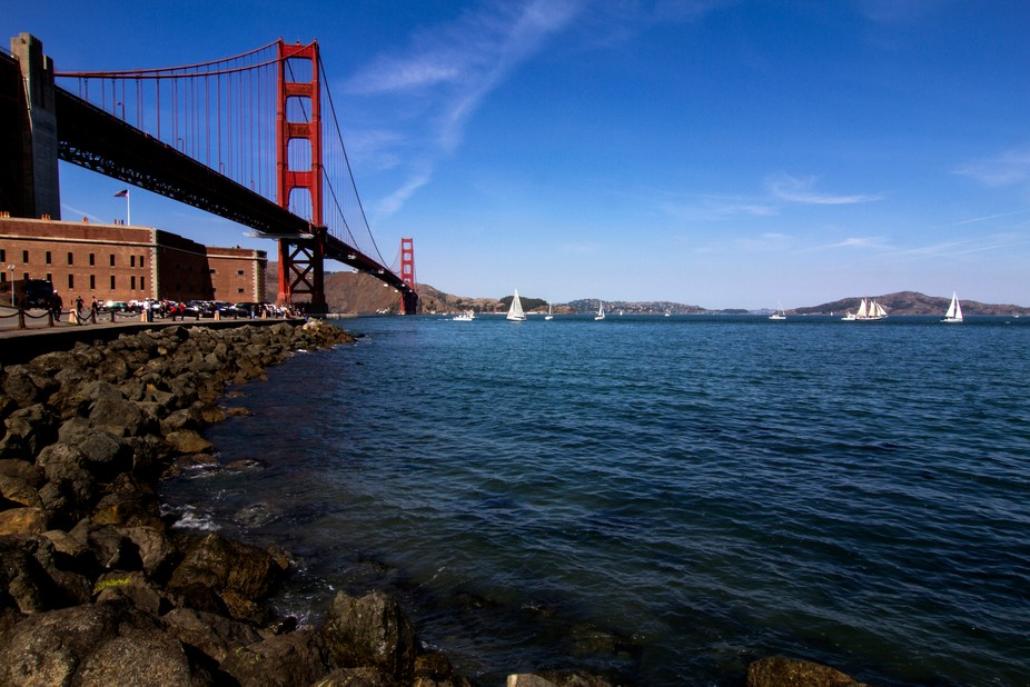 Golden Gate and the Bay