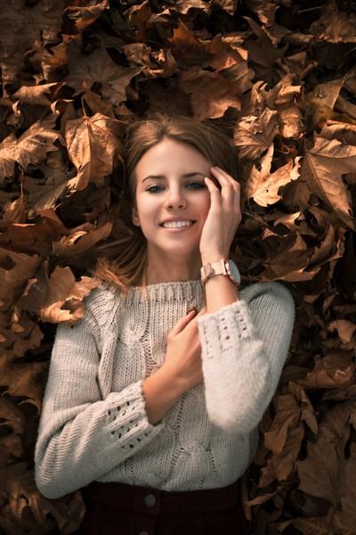 Monika in Autumn