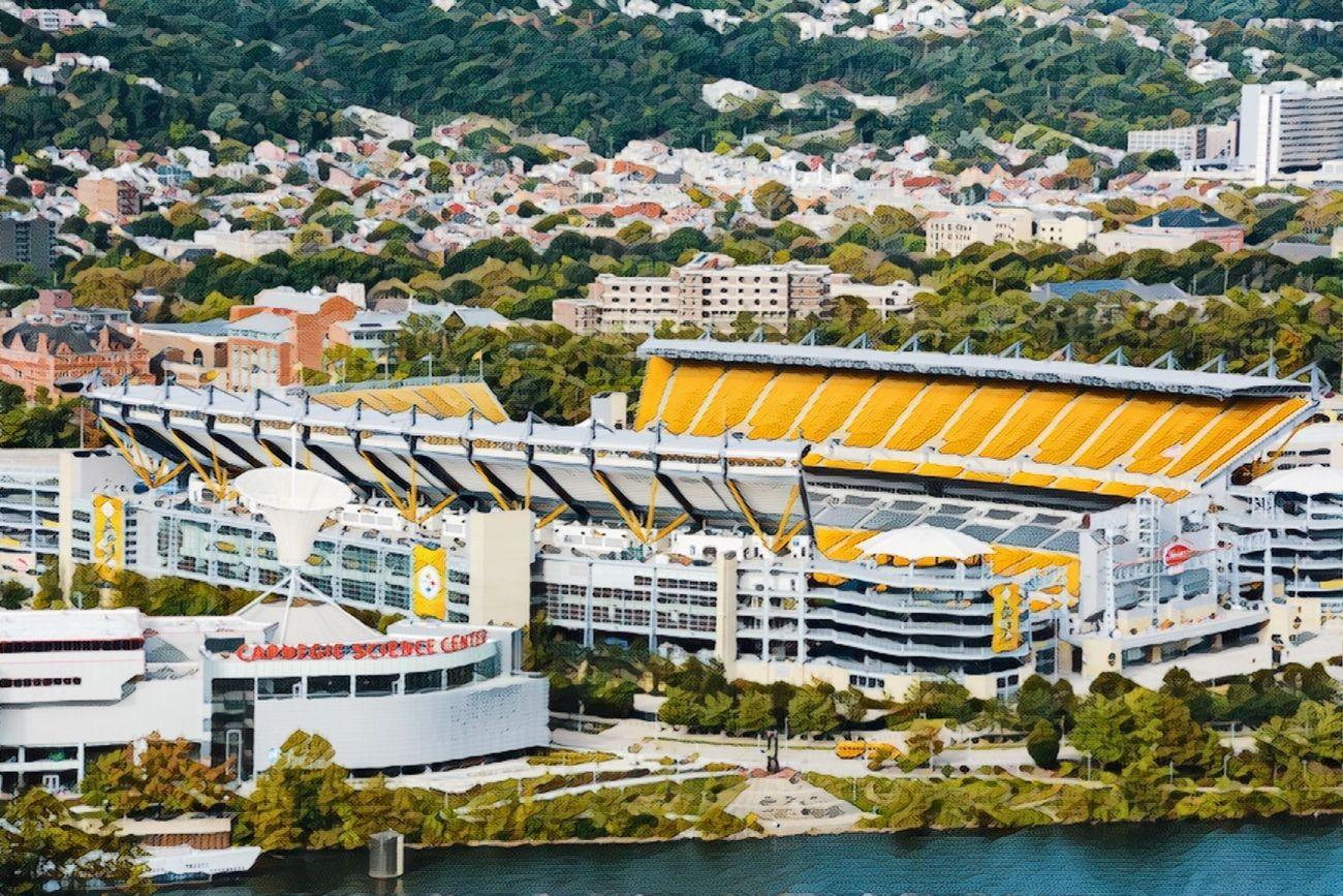 Heinz Field in Pittsburgh, Pa