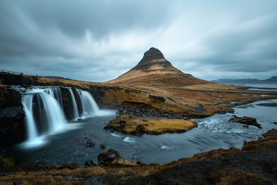 One of Iceland's most iconic landmarks, Kirkjufell embodies the essence of the country's rugg...
