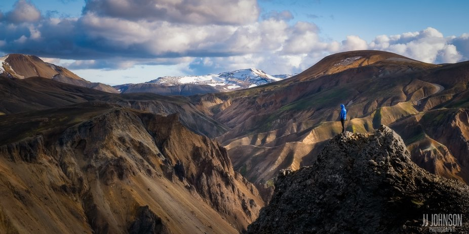 Landmannalaugar is located in the Icelandic Highlands. Only accessible by f-roads. We lucked out ...