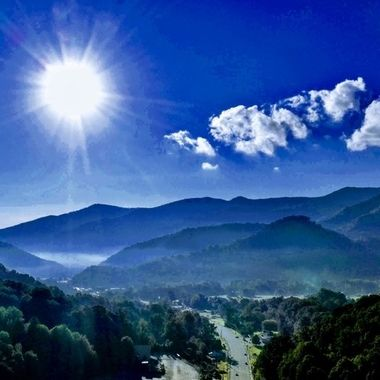 The beautiful Smokey Mountains
