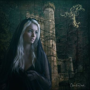 My latest digital photo artistry canvas. Model image by Cathleen Tarawhiti.