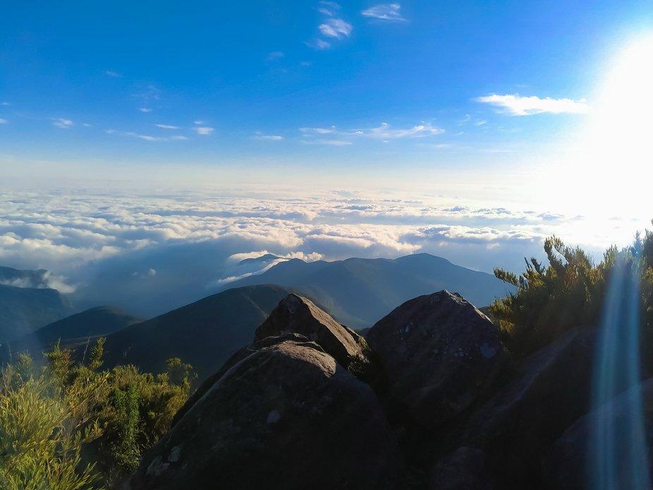 The second biggest mountain in brazil! Pico da bandeira