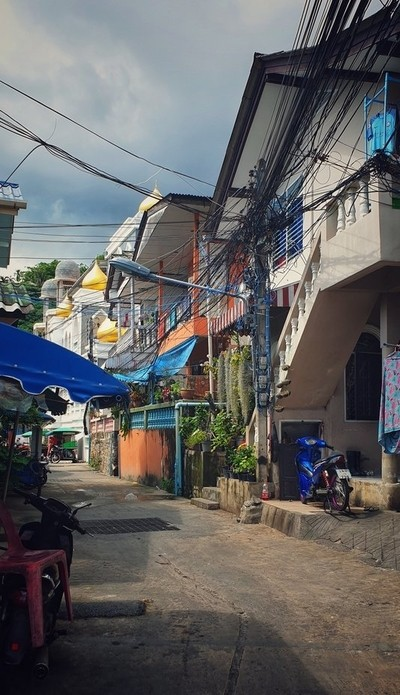 Back alley in Patong