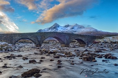Sligchan Bridge in the morning glow