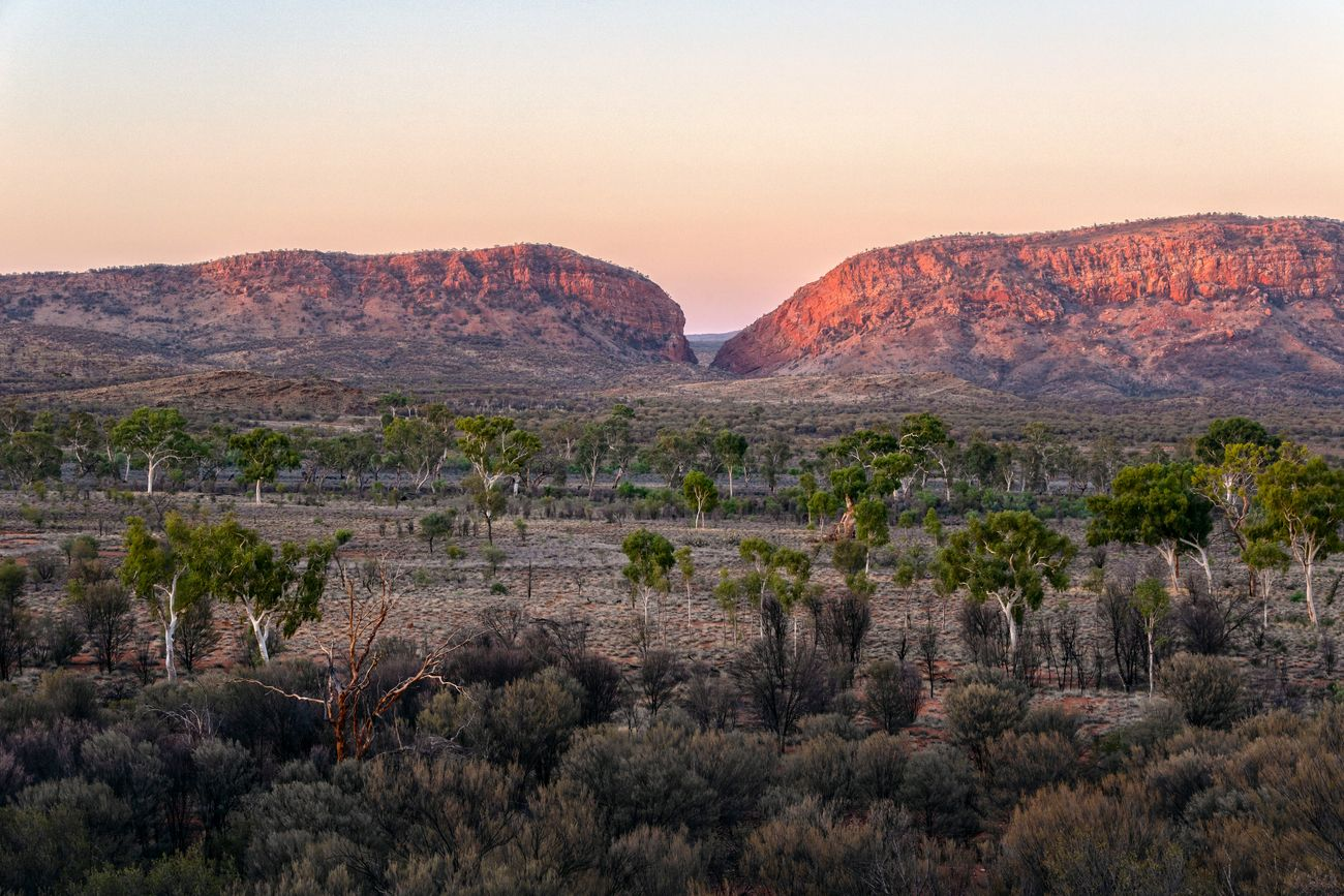 Central Australian outback