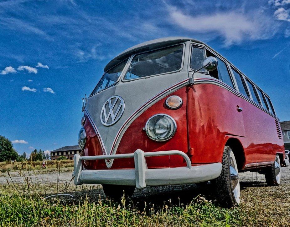 VW van vintage