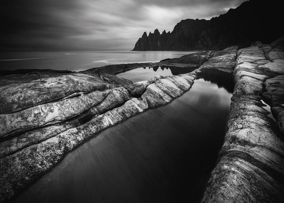 Devil´s teeth Senja Norway    Copyright © Pawel Klarecki