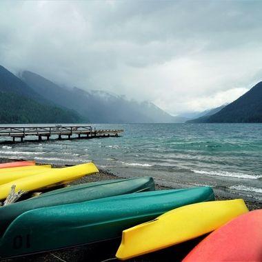 Lake Quinault, Olympic Penninsula, Washington