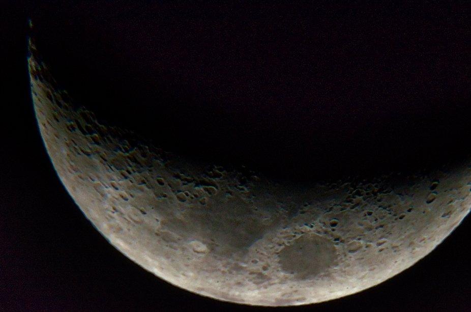 Foto tomada con Nikon D7000 con adaptador a telescopio Seben 900.