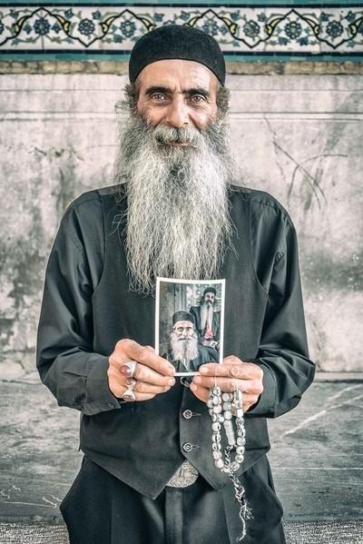 Beard, Rings and Smile