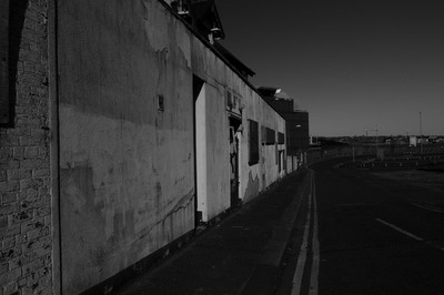 South Shields, Derelict Dock Offices, March, 2015