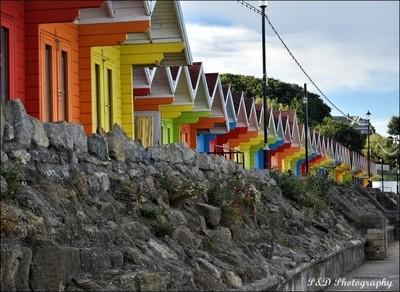 Beach Huts Scarborough