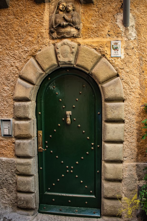 Beautiful Door  Circa 1796 - Porto Venere, La Spezia Italy
