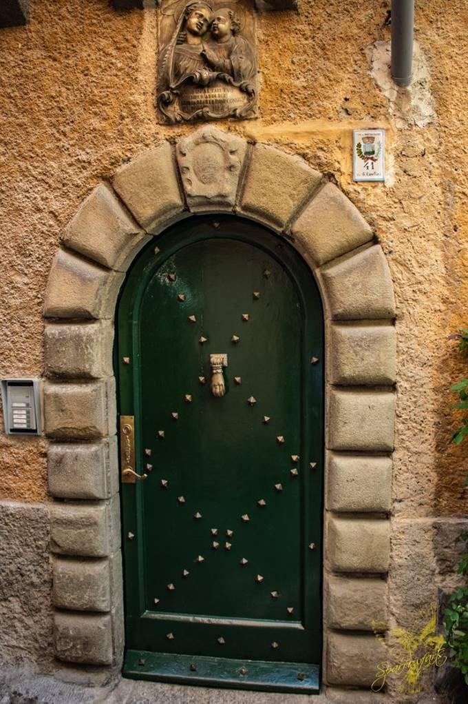 Beautiful Door  Circa 1796 - Porto Venere, La Spezia Italy