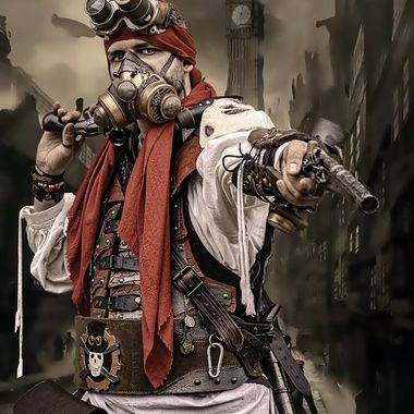 Steampunk Pirate UK