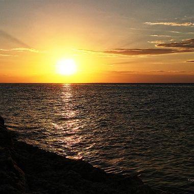 Sunset al Holbox