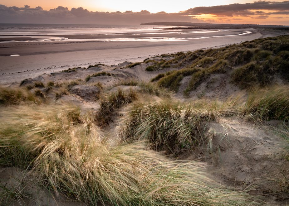 Sunset at Camber Sands, East Sussex