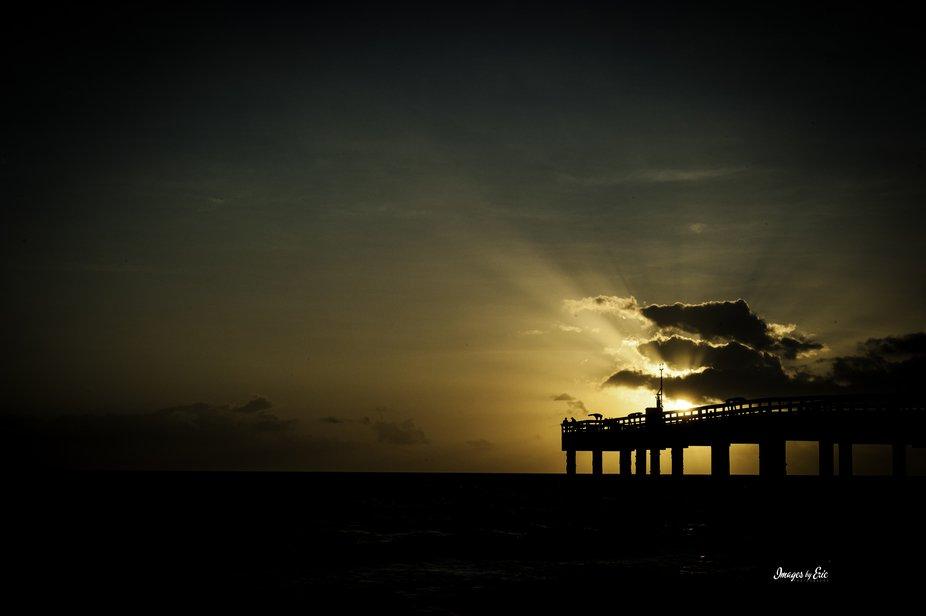 Sunrise by the Peer