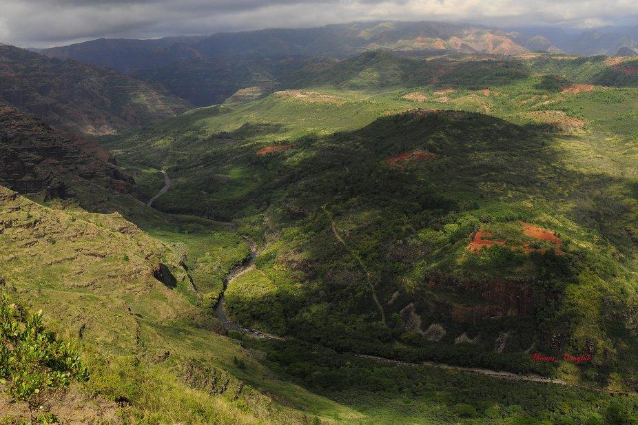 Hawaii Kaui Grand Canyon