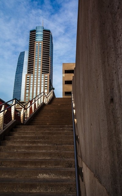 Sky Scrapers in Downtown Denver, CO