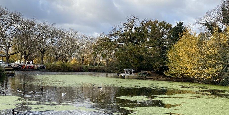 lake In Finsbury Park