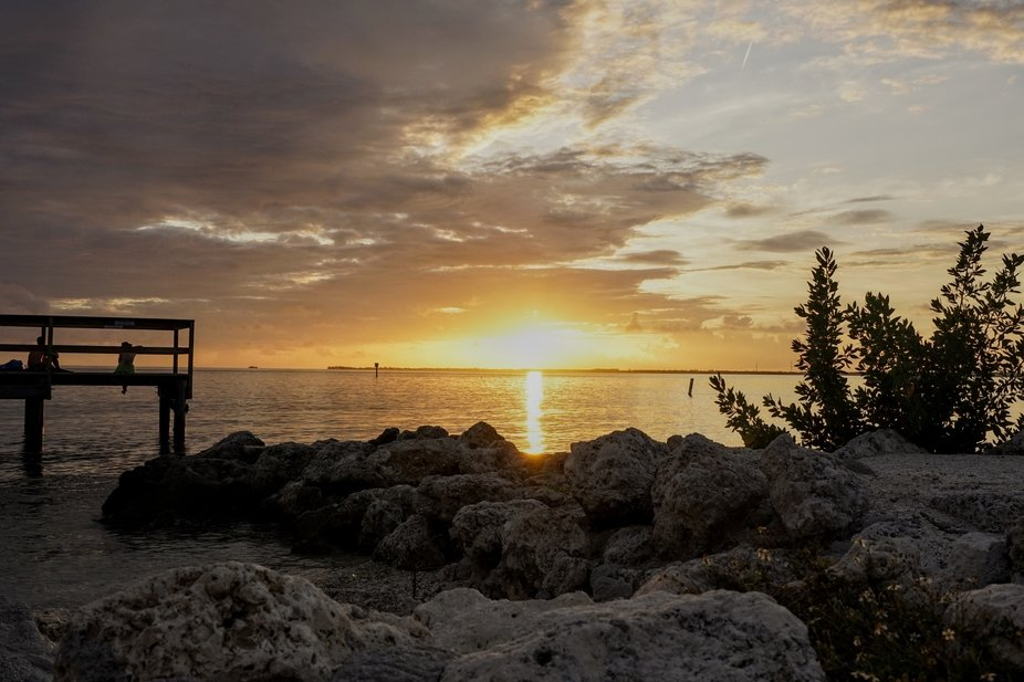 A perfect end to a beautiful day in the Keys.