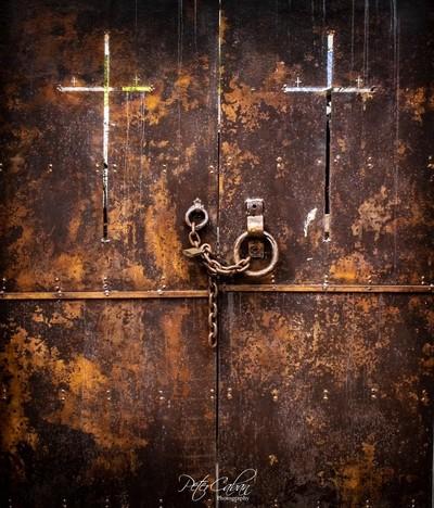 Old weathered gates - Bangalow, NSW