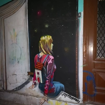 Street art in Larnaca