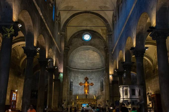 San Michele in Foro is a Roman Catholic basilica church in Lucca, Tuscany, central Italy, built over the ancient Roman forum. - dates back to the 8th century