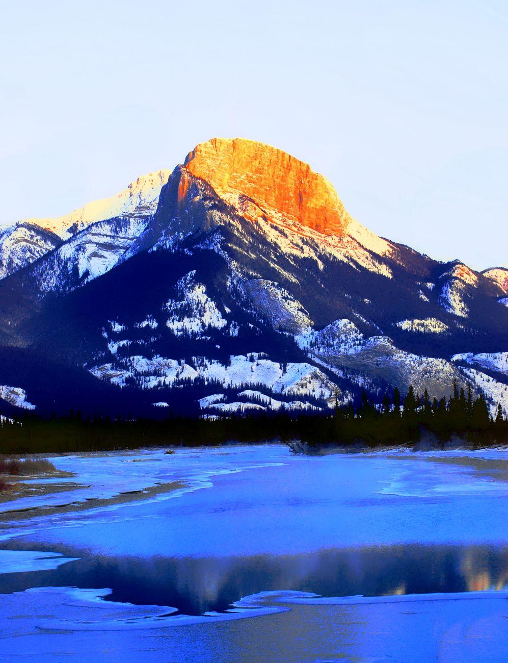 Jasper Mountain, Alberta, Canada