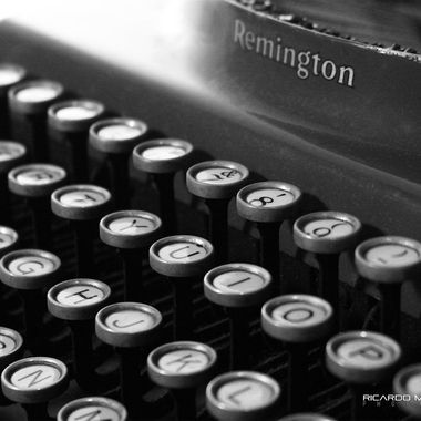 Good ol' Remington typewriter
