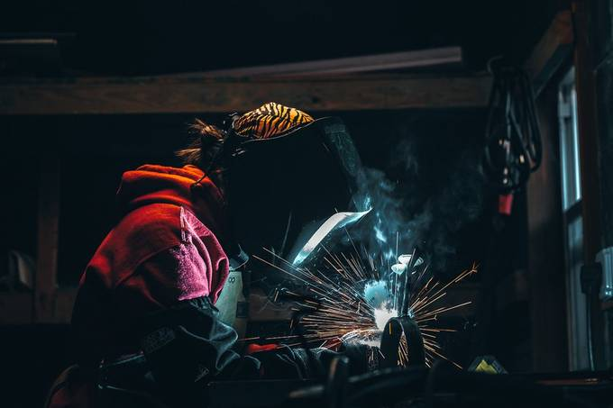 Sparks by KyleBardenPhotography - At Work Photo Contest