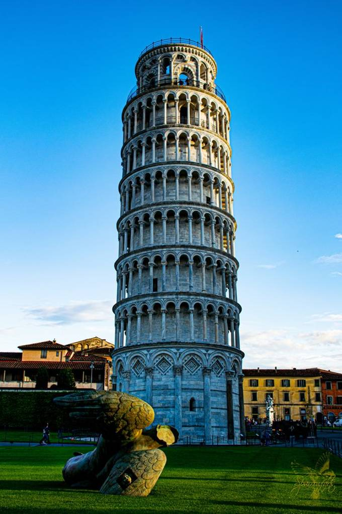 If you ever visit Pisa you have to take a photo of the Campanile - minimise the crowd is the hard part.