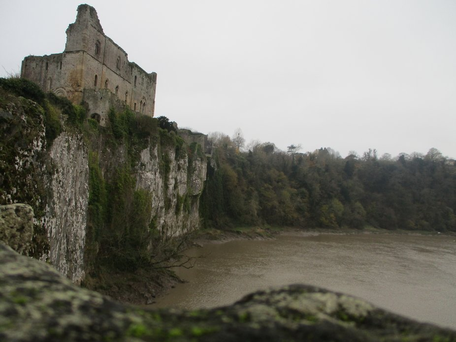 Abandoned fort, chepstow