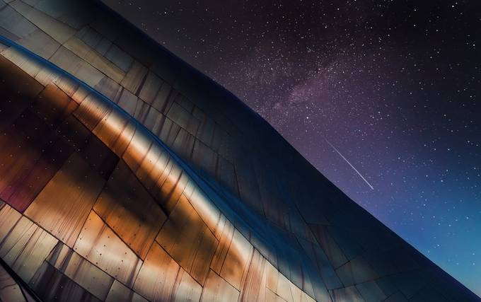 skyfall by CraigSonnenfeld - The Night Sky Photo Contest