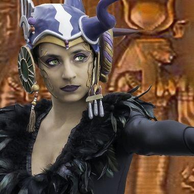 The Godess / Dea egizia