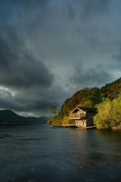 Ullswater boathouse
