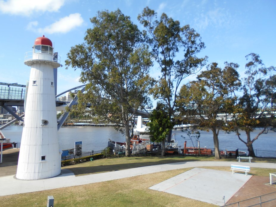 Old light house in Brisbane and museum