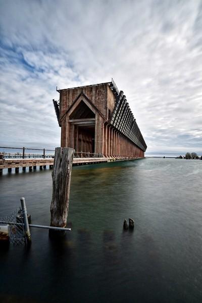 Marquette harbor dock